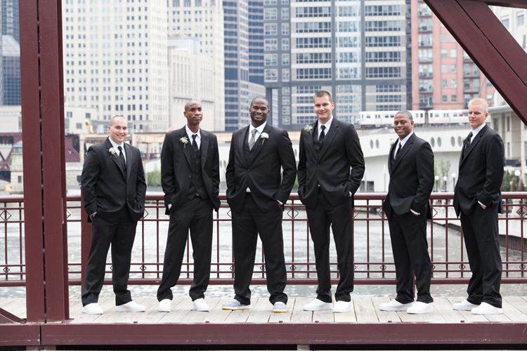 Chicago Kinzie Street Bridge Wedding Photography
