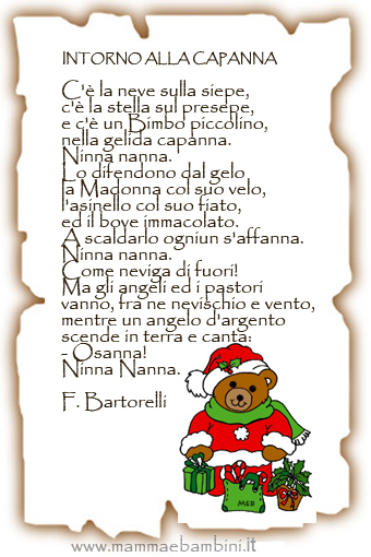 Poesie di natale brevi per sentire l'atmosfera delle feste e aiutare i bambini piccoli a imparare filastrocche e frasi sul natale. Poesie E Filastrocche Di Natale Per La Scuola Dell Infanzia