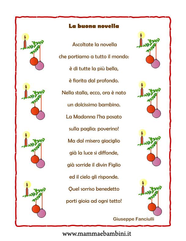 Poesie famose e componimenti sul natale: Poesie I Natale