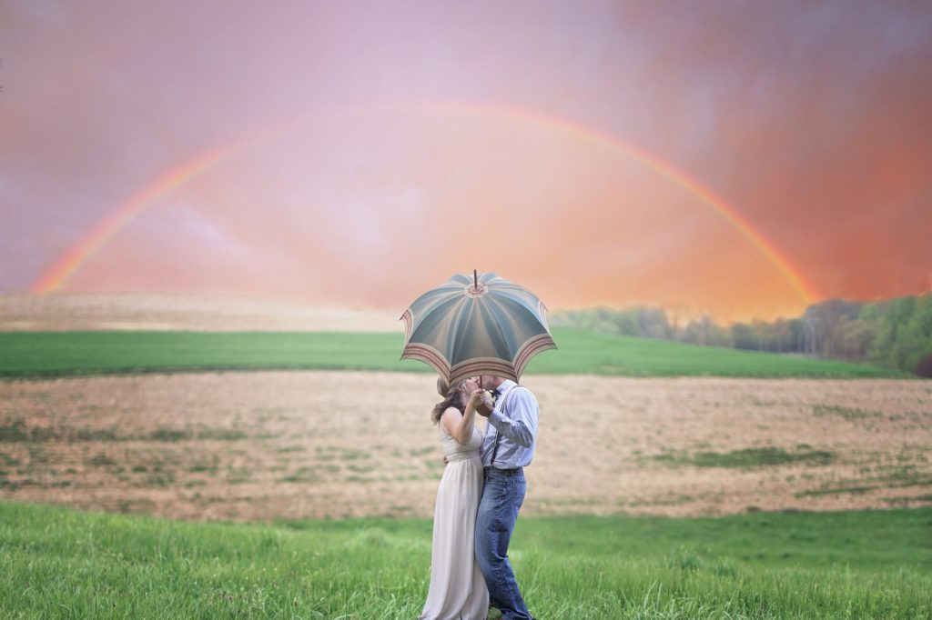 Rainbow | Like a rainbow in a cloud | Romantic poetry | Poems on love
