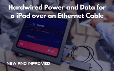 Power and data for iPad