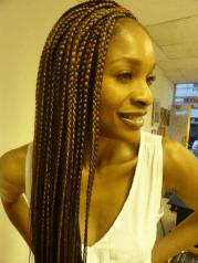box braids hairstyles - tutorials