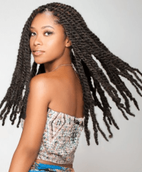 Marley Braids / Twists Hairstyles