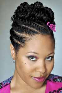 Hottest Natural Hair Braids Styles For Black Women in 2015