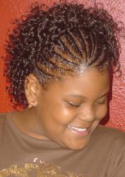 braids short hair - bob braided