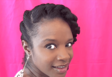 Natural Hairstyles For Short Hair Flat Twist