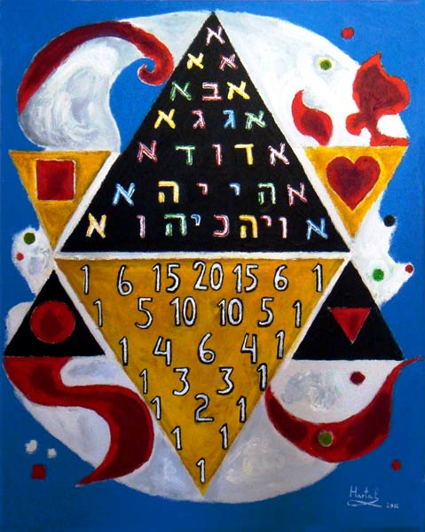 Paul Hartal - The Kabalistic Message of Pascal's Triangle, 2010.