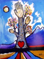 Paul Hartal - Tree of Life with Six Fingers, 2003