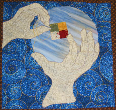 Barbara Pearson - Quilt block, The Global Art Project for Peace 2004.