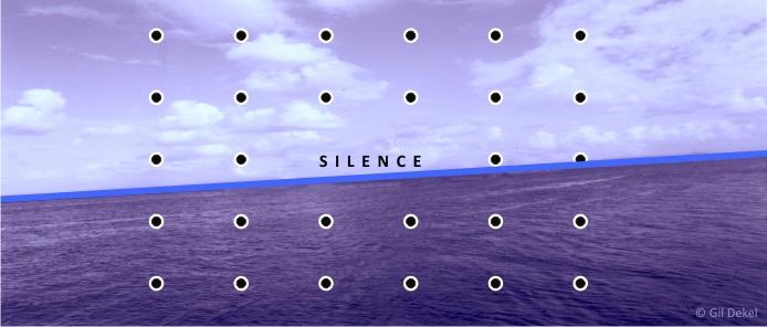 Silence (artwork by © Gil Dekel)