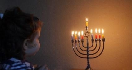 The Menora (candelabrum) represents finding your inner light. Photo © Gil Dekel.