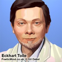Eckhart Tolle portrait