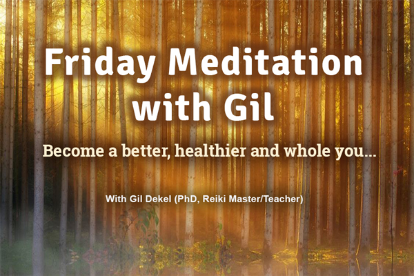 Friday Meditation with Gil. Image: pixabay.