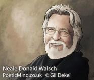 Portrait of Neale Donald Walsch (copyrights © Dr. Gil Dekel)