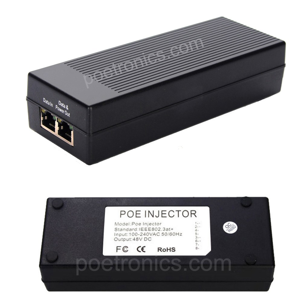 medium resolution of poe pse01gt gigabit 30w poe injector ieee802 3at 30w built in power 12 36