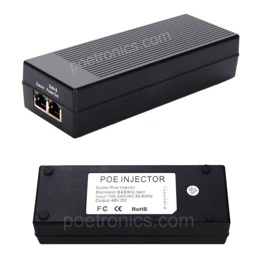 small resolution of poe pse01gt gigabit 30w poe injector ieee802 3at 30w built in power 12 36