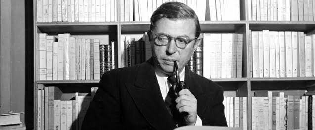 Image result for jean paul sartre