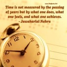 In The Passing of Time