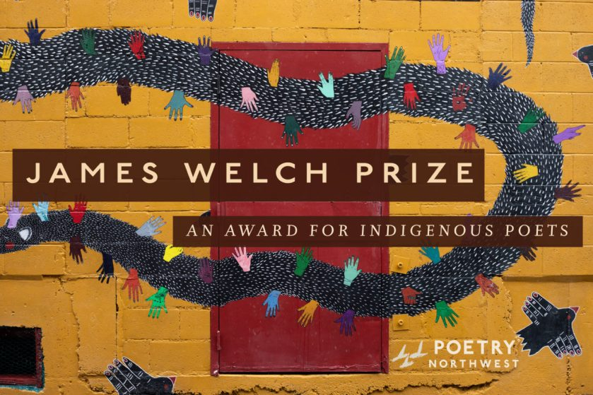 James Welch Prize: An award for indigenous poets