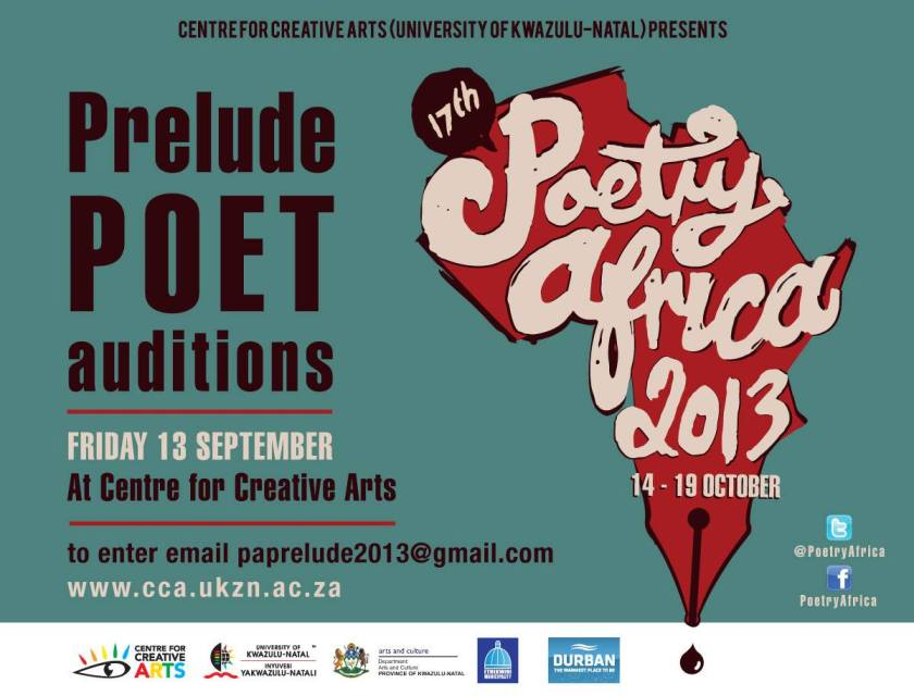 Prelude Poet Auditions Poetry Africa