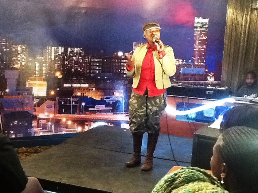 Lesego Motsepe at Comrades on the MIC 15 June 2013