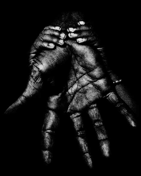 Hands of the World by Touhami Ennadre