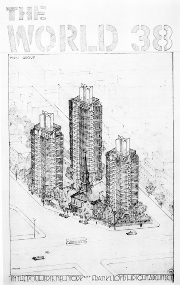 Skyscrapers in-the-Bouwerie (and you thought NYU got there first!). Courtesy The Poetry Project
