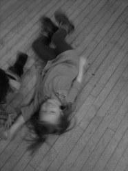 Aurora cleaning the floor (c) Greg Fuchs, 2011