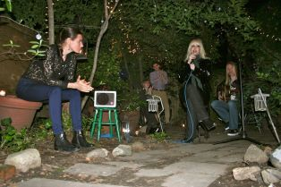 Tammy Faye Starlite channels Nico in the garden