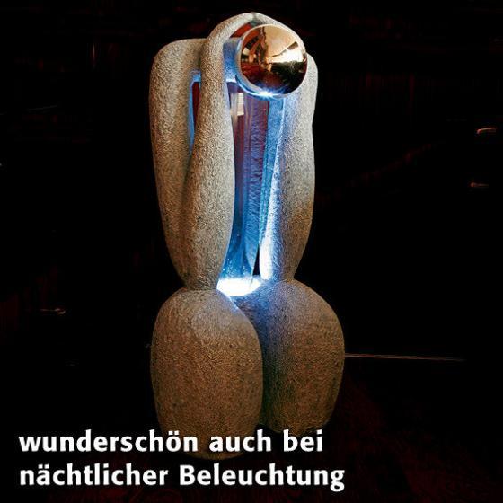 Wasserspiel Brunnen La Sculptura  von Grtner Ptschke