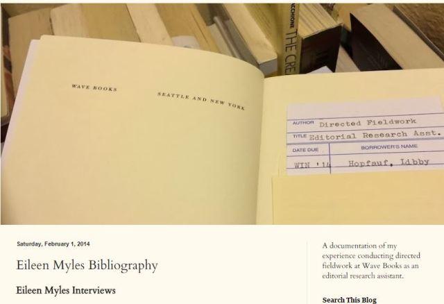 EM ITW Bibliography Blog