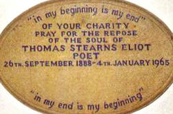 TS Eliot marker