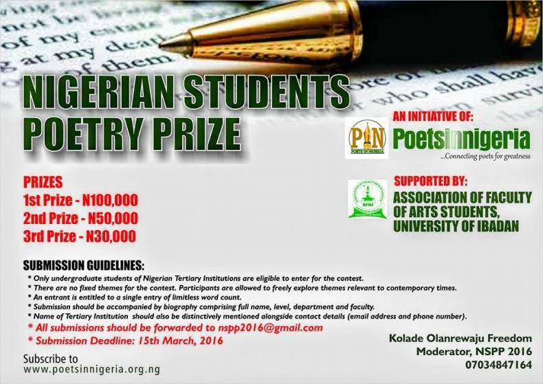 Nigerian Students Poetry Prize