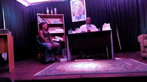 Staging of 'The Reeducation of Gina Obi' by JHF Jnr.