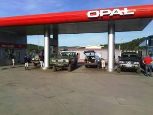 Znajoma stacja benzynowa