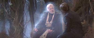 Image result for Luke Skywalker obi-wan ROTJ sits down