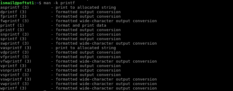 Man Command Usage With Examples For Linux and Unix – POFTUT