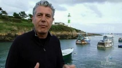 Image result for no reservations brittany episode