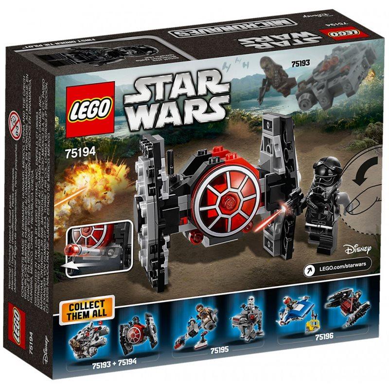 Microfighter Chasseur TIE du Premier Ordre™ - Lego 75194 à 9.99