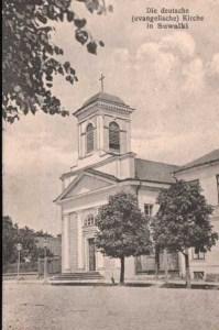 Kościół Świętej Trójcy (ewangelicko-augsburski) w Suwałkach autor: Karol Beyer
