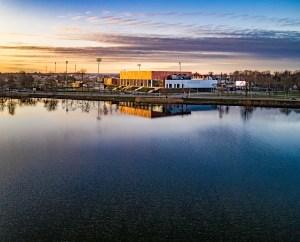 Suwałki Arena zdjęcie z drona