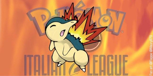 Fan Art disegno Pokémon Cyndaquil per Italian League