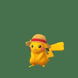 Pikachu con il berretto di One Piece