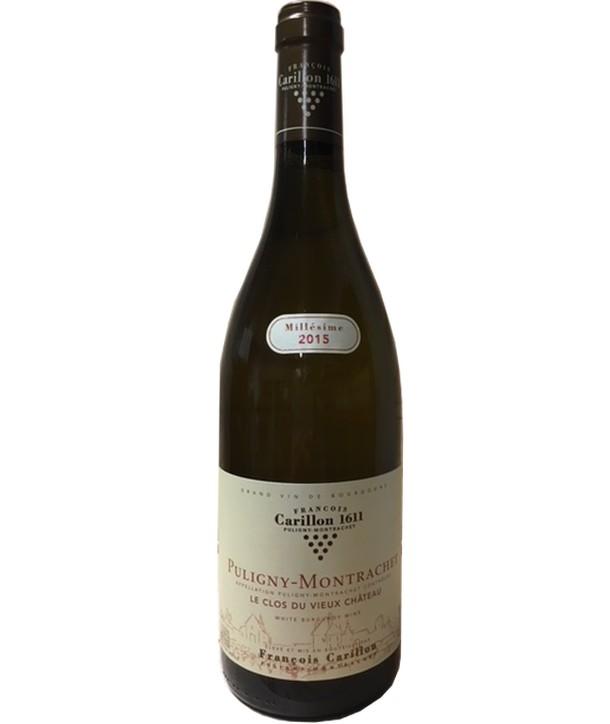 Francois Carillon & Fils - Puligny Montrachet Le Clos du Vieux Chateau 2015 - Pogo's Wine & Spirits