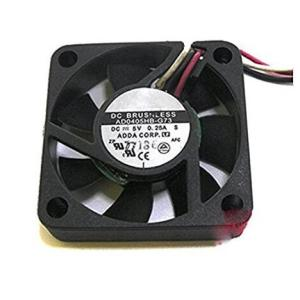 5V 0.25A 40x40x10mm 4010S 3-Wires Brushless DC Cooling Fan