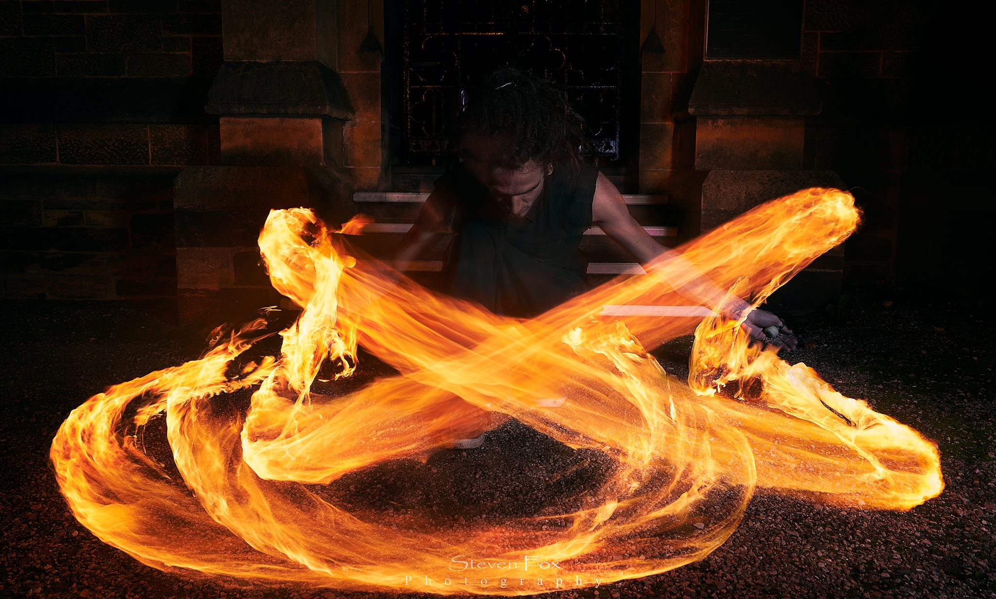 fire spinning classes courses