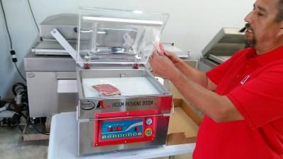 Vacuum packaging machine service