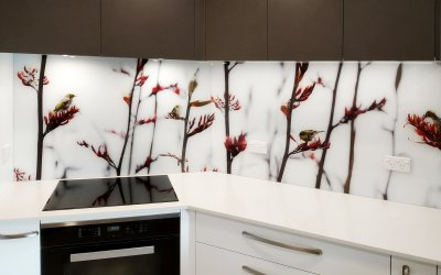 Glass splashbacks colours