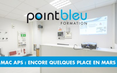 FORMATIONS MAC APS – CARREFOUR PLEYEL – ENCORE QUELQUES PLACES EN MARS 2018