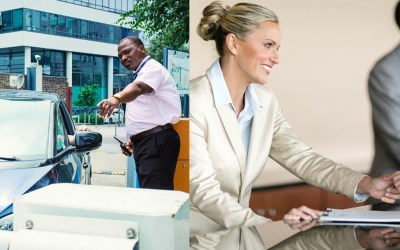 Reconversion professionnelle dans les métiers de la sécurité et de l'accueil